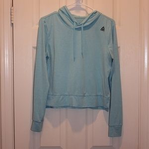 Womens Reebok Cropped Sweatshirt